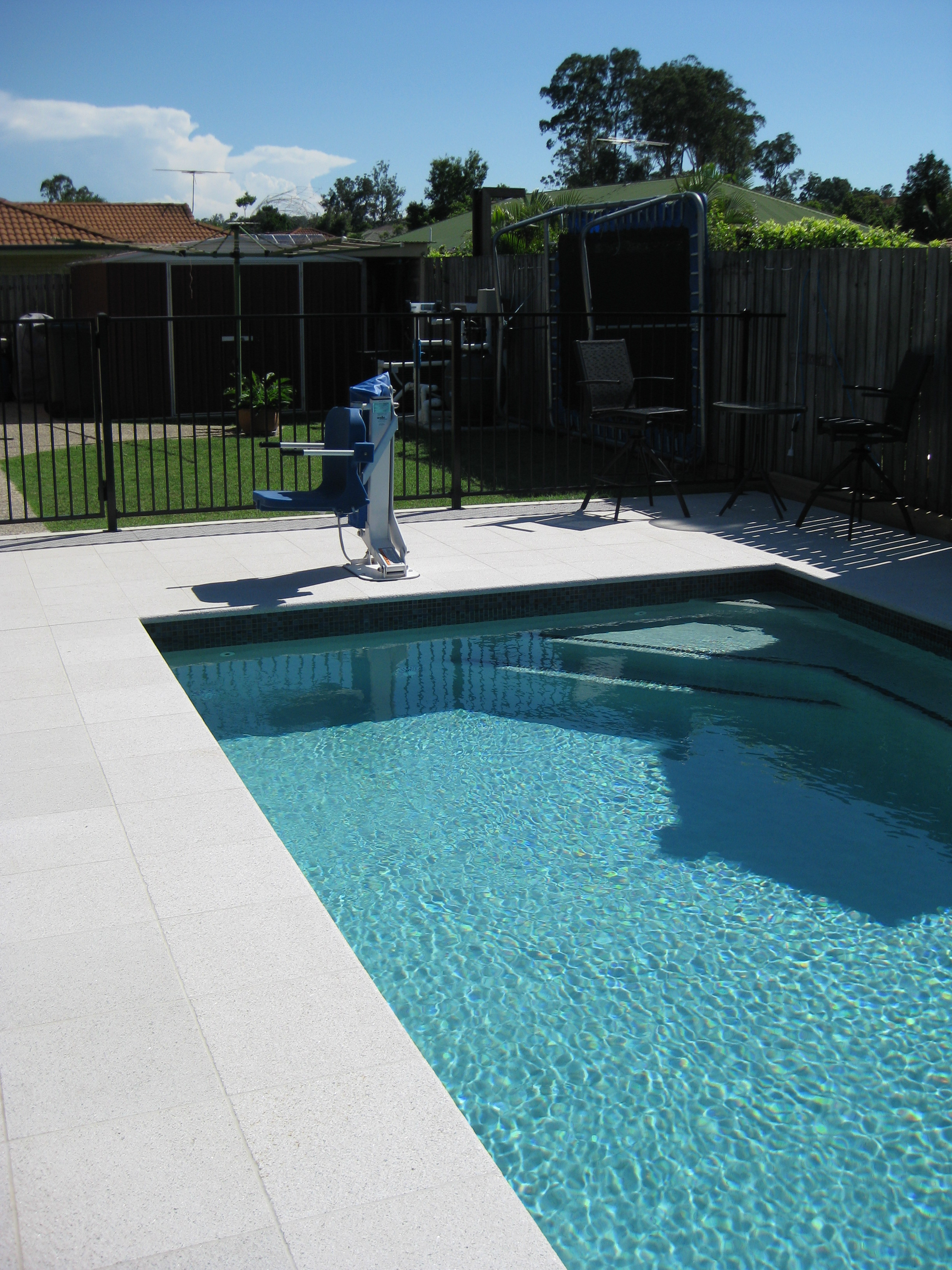 Anita Installs Pro Pool Lift In Brisbane Dpl Australia